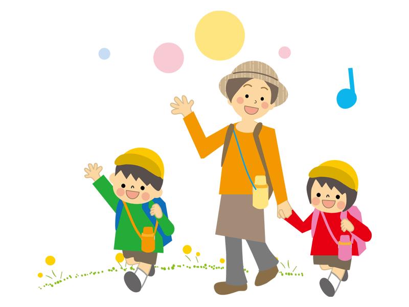 親子遠足 (円山動物園)