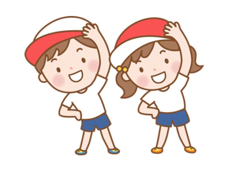 体操発表会4歳